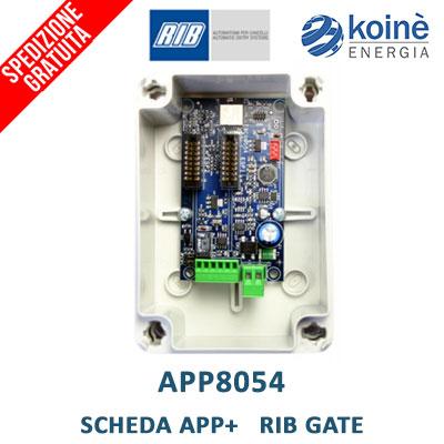 app8054 scheda app rib gate