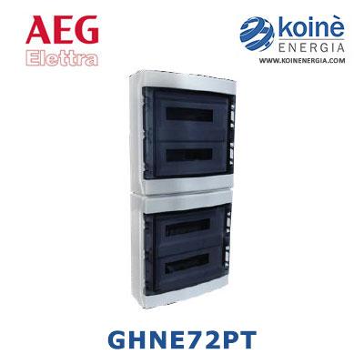 GHNE72PT aeg elettra centralino da parete ip65