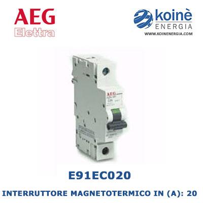 E91EC20-INTERRUTTORE-MAGNETOTERMICO-AEG-ELETTRA-