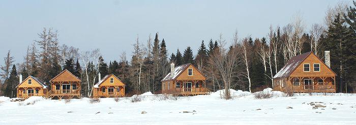 Moose Pond Maine Cabins