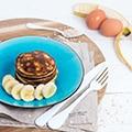 Suikervrije Healthy Pancakes (2 ingrediënten!)