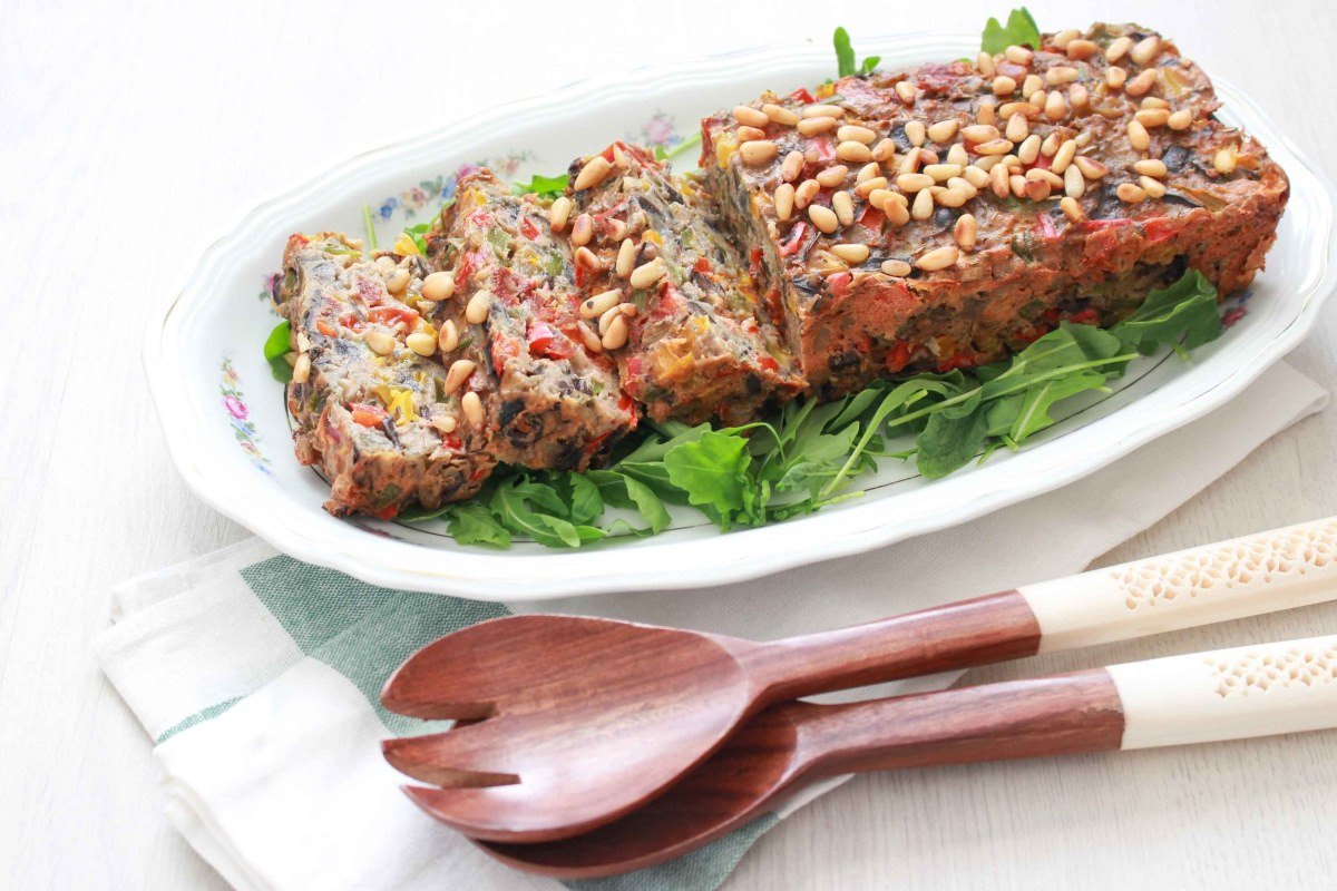 mediteraanse groentencake