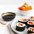 Regenboog sushi