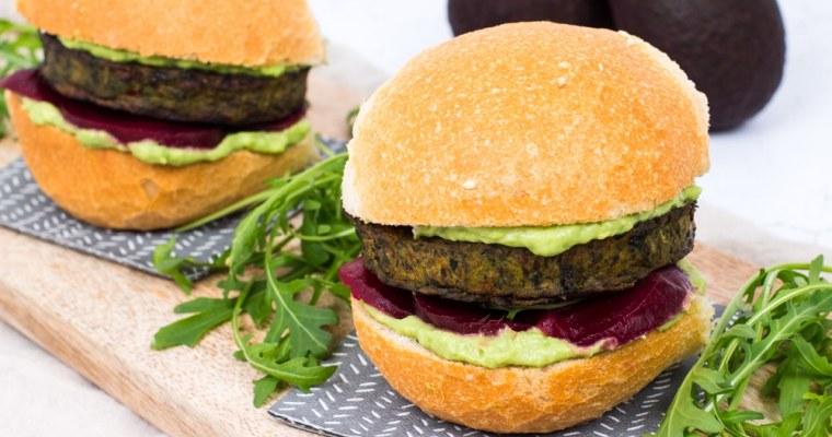 SoFine Boerenkoolburger met avocadocrème