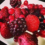 Salsa de frutos rojos koketo