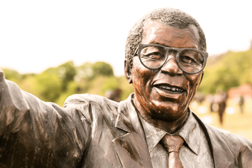 Walter Sisulu at Heroes Acre