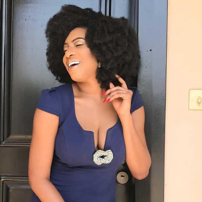 Chika-Ike-In-Afro-hair-KOKOTv