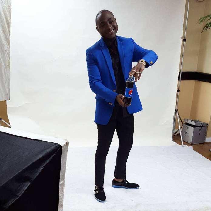 Davido Looks Dapper In New Ad Campaign For Pepsi Nigeria 3