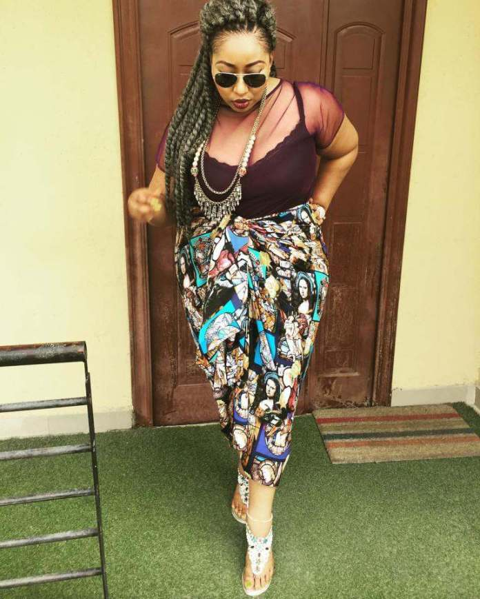 Curvy Style: Latasha Ngwube Serves Body Goals In Wrap Dresses 3