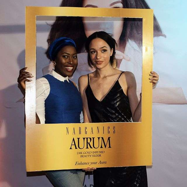 Eku Edewor Partners With Narganics Company On New Body Oil Launch 1