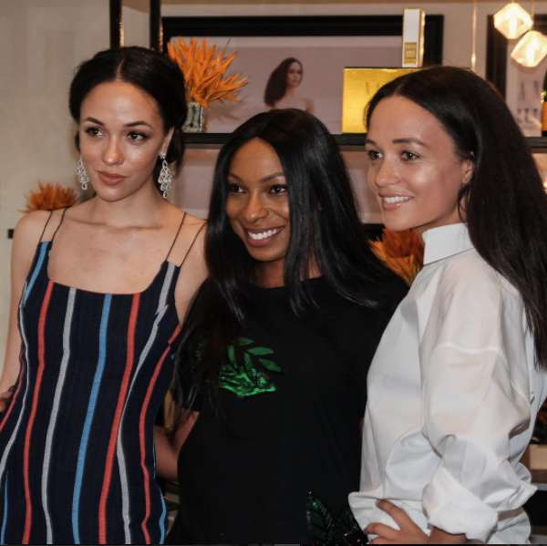 Eku Edewor Partners With Narganics Company On New Body Oil Launch 2