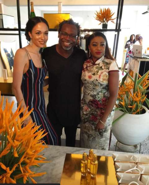 Eku Edewor Partners With Narganics Company On New Body Oil Launch 3