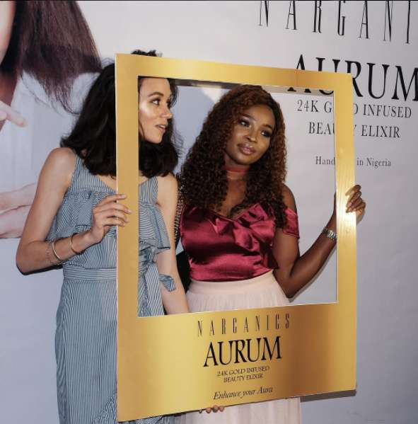 Eku Edewor Partners With Narganics Company On New Body Oil Launch 11