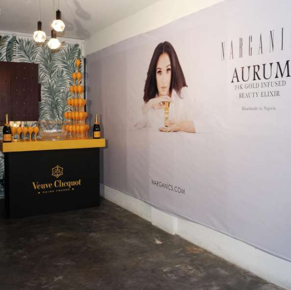 Eku Edewor Partners With Narganics Company On New Body Oil Launch 10