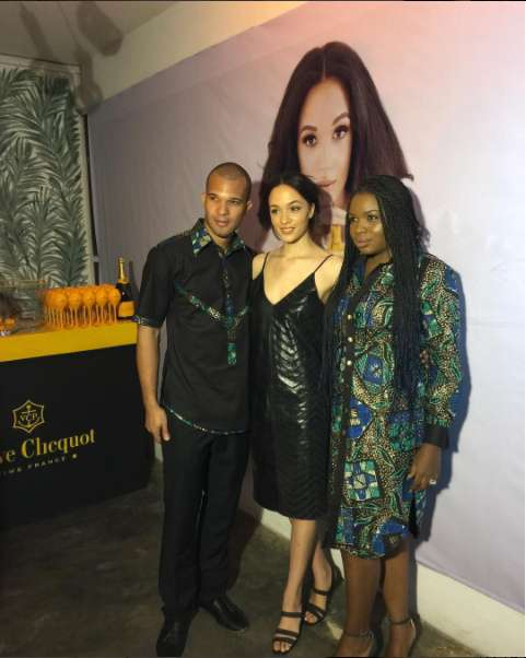 Eku Edewor Partners With Narganics Company On New Body Oil Launch 7