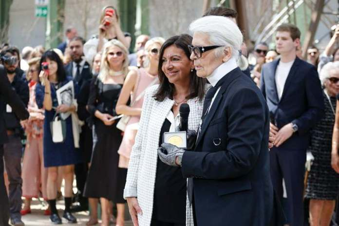 Karl Lagerfeld Is Awarded With Highest Honour In Paris 1