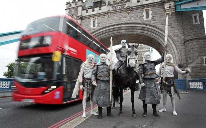 Winter Is Coming! White Walkers Descend Upon The City Of London 1