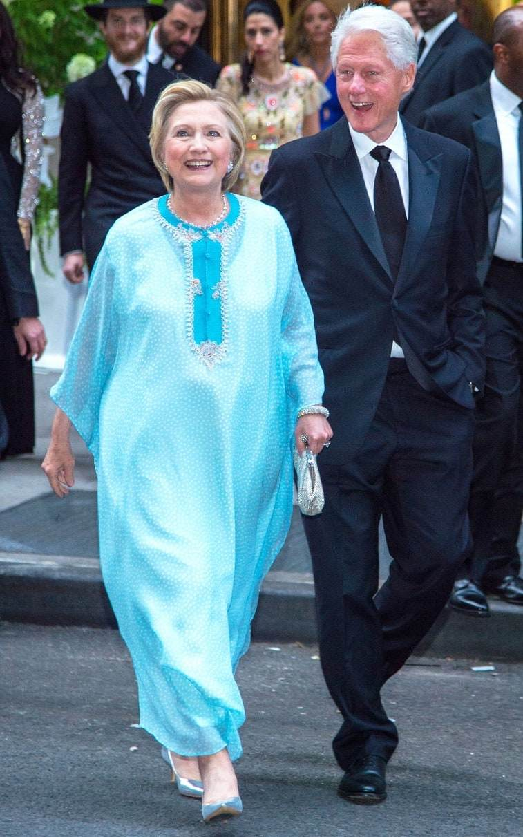 When Politicians Slay! Hillary Clinton Attends Wedding Wearing ...