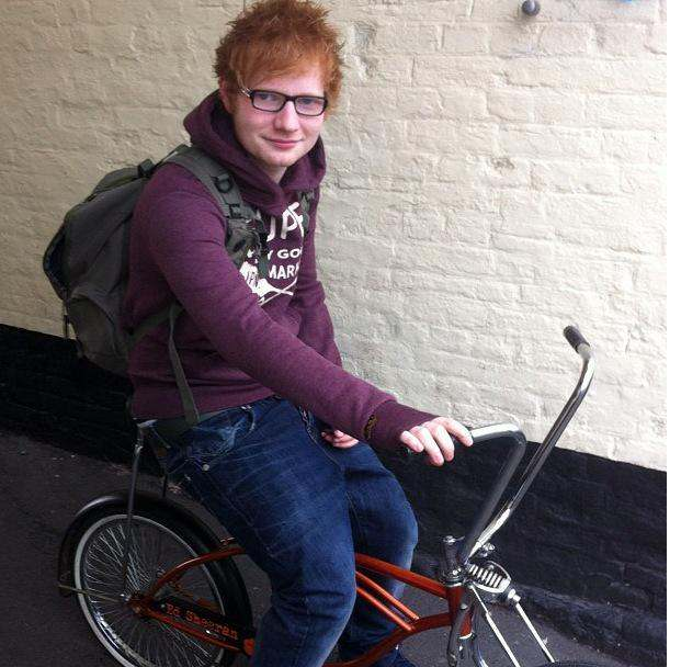 Singer Ed Sheeran Breaks His Arm After Being Knocked Off His Bicycle By A Car In London 3