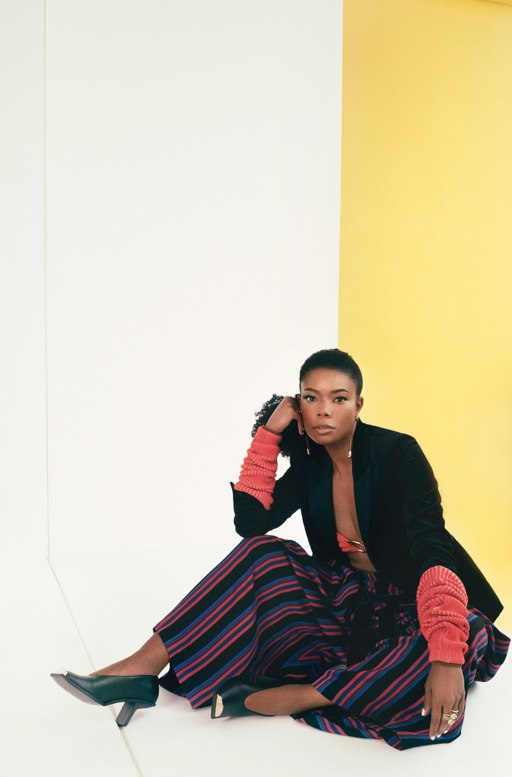 'I Get Most Of My Work Done On The Toilet' Gabrielle Union Gets Down To Earth In The Cut Magazine's Latest Issue 5