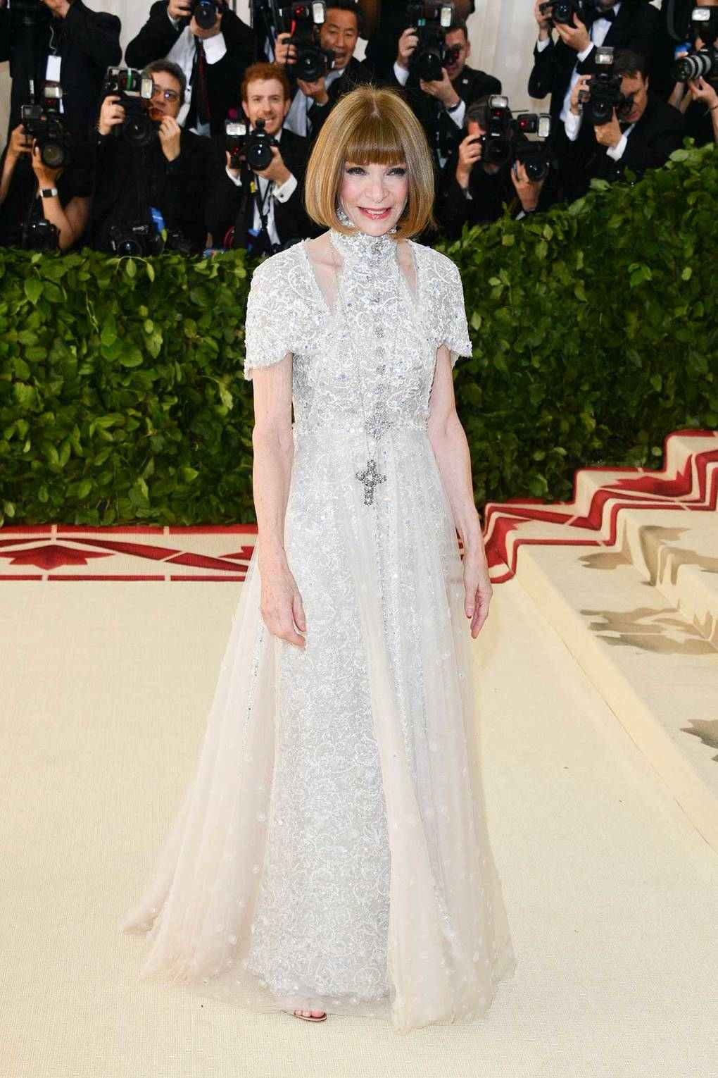 Image result for anna wintour met gala 2018