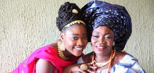 Image result for Mercy Johnson & Her Sisters At Burial Of Elizabeth Johnson