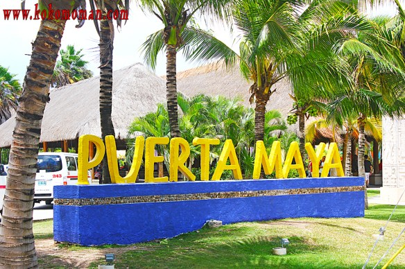 Puerta Maya is the Carnival made for cruise ship port.