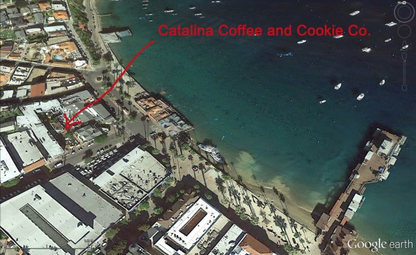 Thanks to Google Earth... here's the Catalina Coffee and Cookie Co.