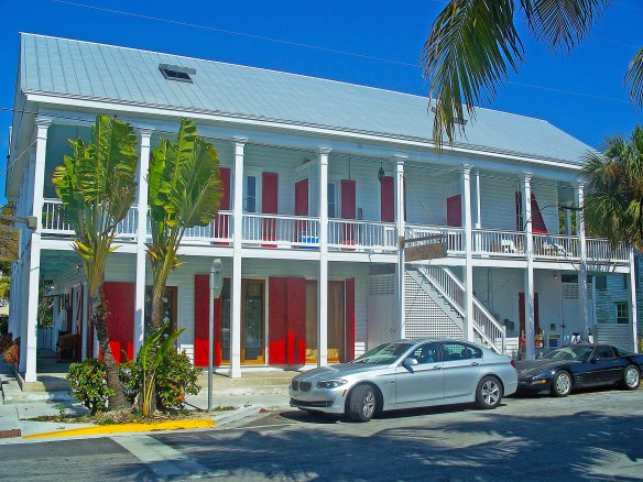 The Red Doors... with a history of booze, broads, gambling and fighting. Fun in Key West.