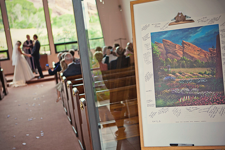 Red Rocks Chapel Wedding Photography