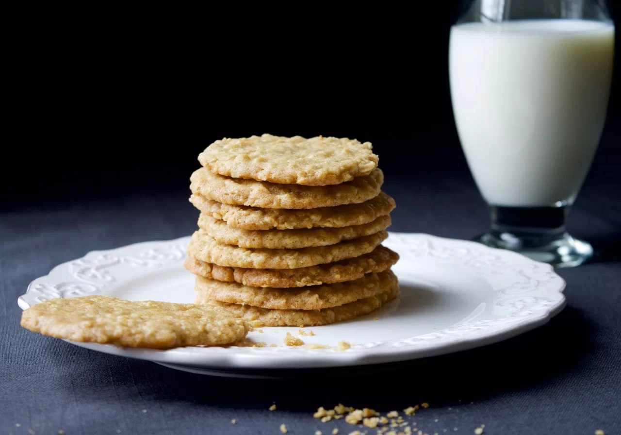 CHEWY COCONUT SUGAR COOKIES
