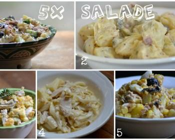 5 x Salade