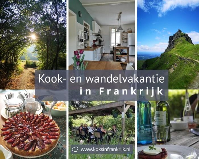 Kook- en wandelvakantie in de Auvergne