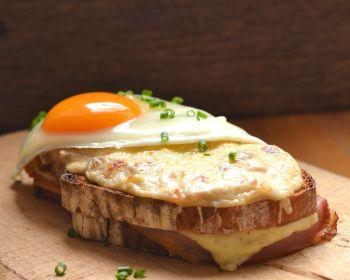 Croque madame | Franse tosti