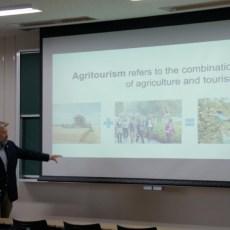 テネシー大学マーチン校 フィリップ・リン・スマート先生による学術講演会を開催