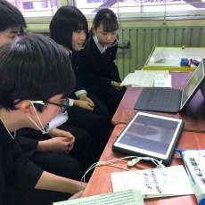 弘前南高校生との交流会に参加しました。