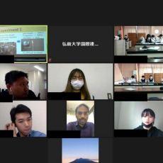 弘前南高校との交流会(サイエンスエクスチェンジ)を開催しました。