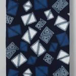 2012 絞り染布 288×108