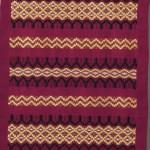2014 カナリア色の天蚕糸 210X55