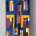 2003 染布 (部分)  100×290