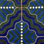 2007 飾り布・曲がった線 360×110