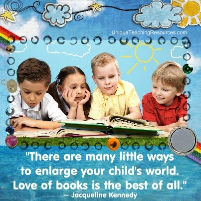 20 Inspiring Quotes About Reading for Kids and Students!
