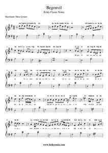 Begonvil - Kolay Piyano Notası