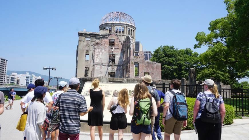 Hiroshima, le Japon se souvient soixante-treize ans après — En images