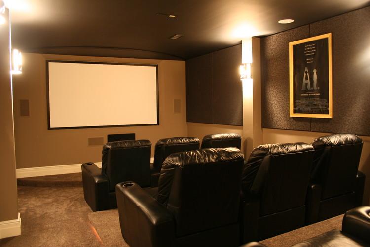 Contemporary Home Theaters Kole Digital