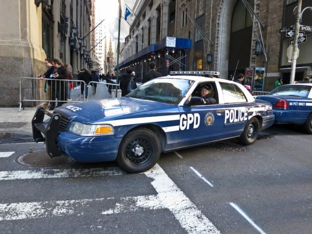 Gotham City Police Car on set of The Dark Knight Rises /  Scott Beale (CC BY-NC-ND 2.0)
