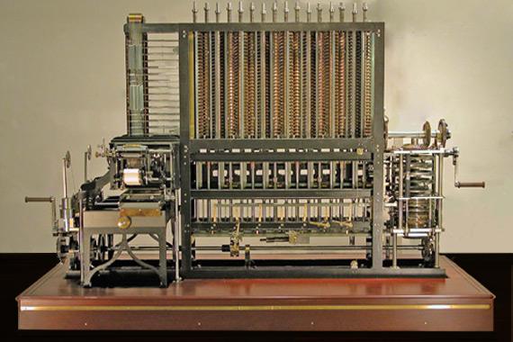 Maszyna różnicowa / Computer History Museum