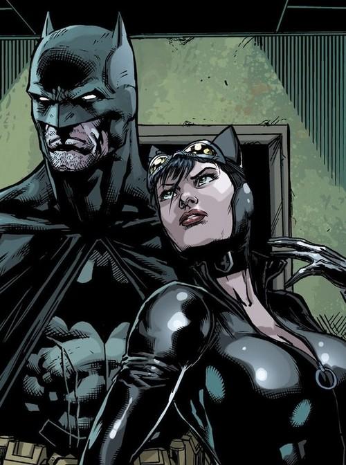 Batman i Kobieta Kot / DC Comics