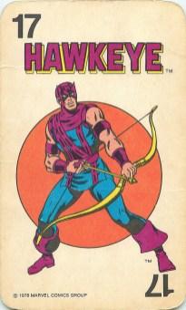 Karty z superbohaterami Marvela (1978)