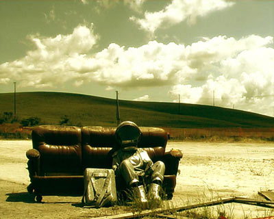 Still from video A Rewinding Journey by Aldo Giannotti and Viktor Schaider